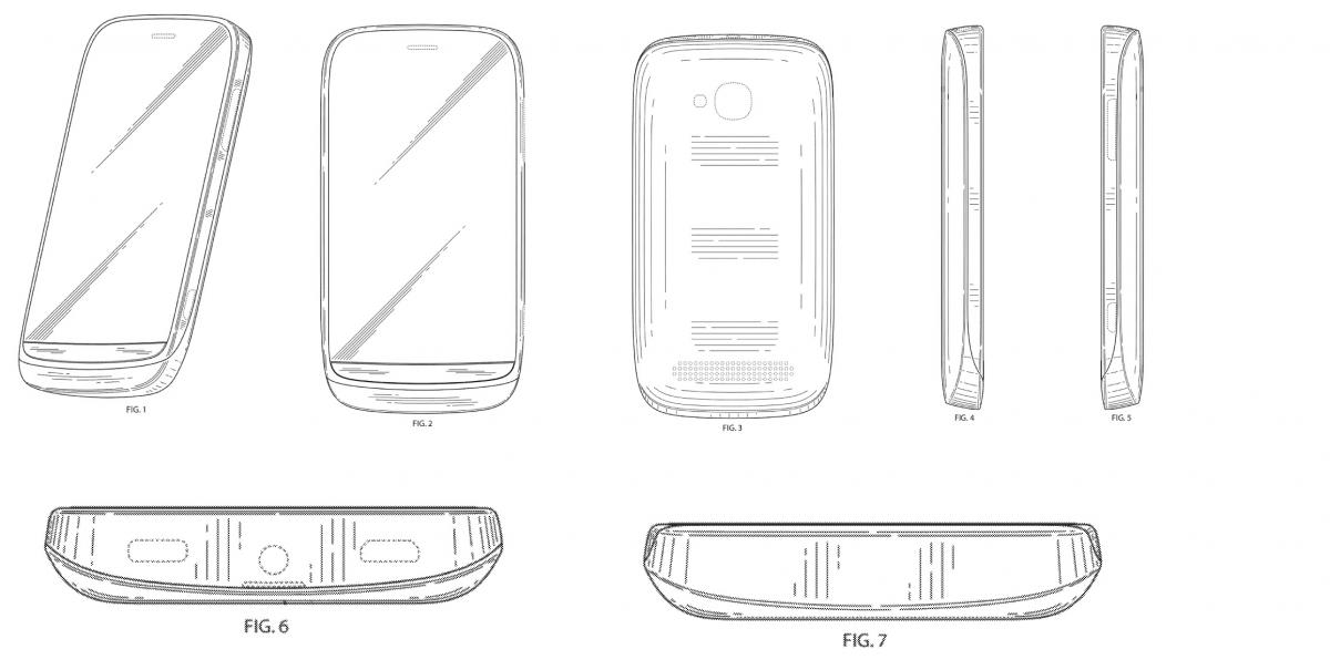 Nokia attempts to patent another phone design. Next