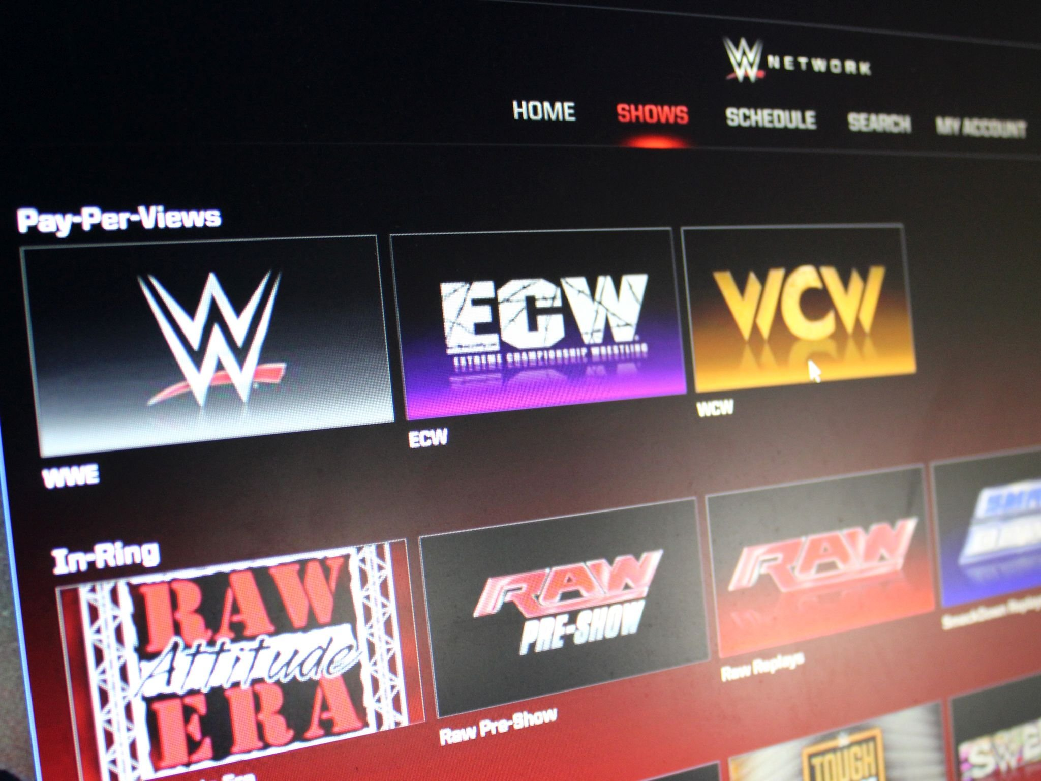 WWE Network app for Windows 10 jumps off the top rope and into the ring   Windows Central