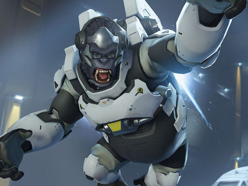X Men Animated Series Wallpaper Overwatch S First Animated Short Centers On Super Gorilla