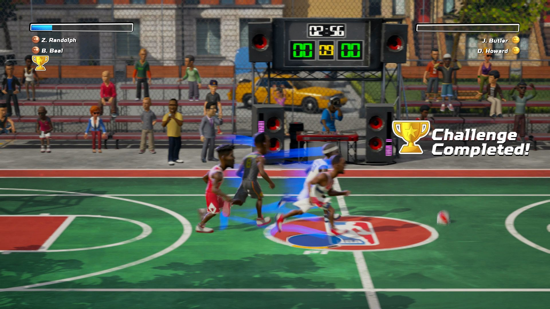 Nba Playgrounds For Xbox One Review A Basketball Game