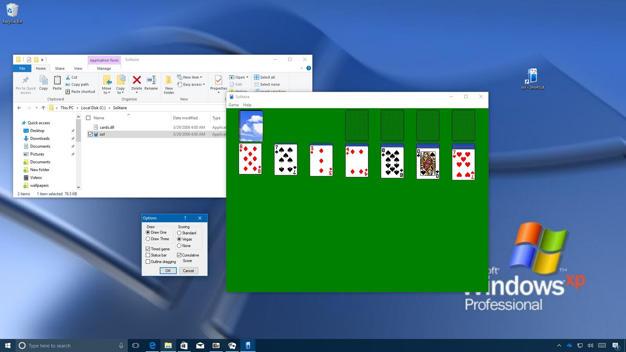 How To Get The Classic Windows Solitaire Game On Windows