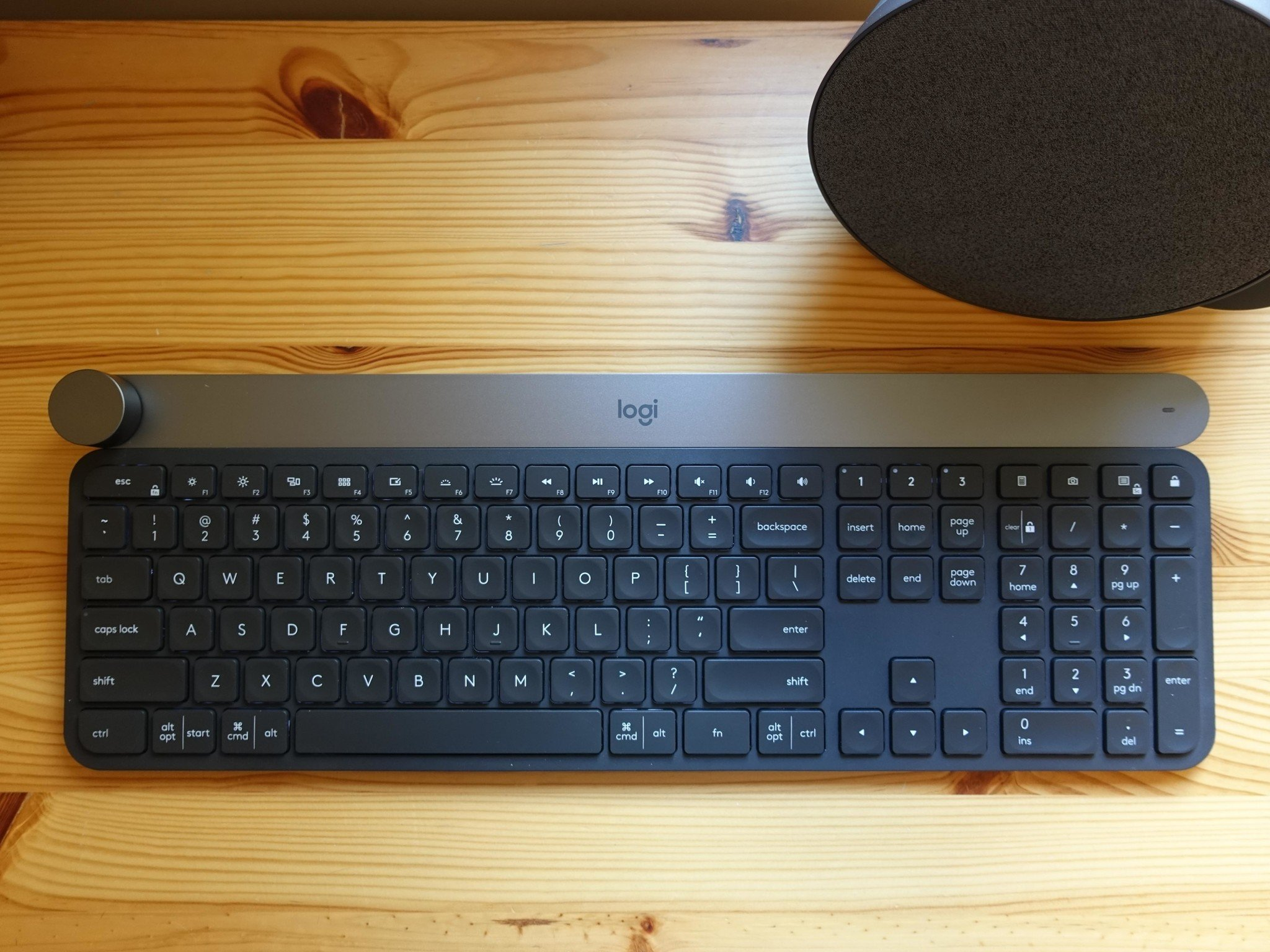ergonomic chair amazon hanging egg uk logitech craft keyboard has an amazing built-in surface dial | windows central