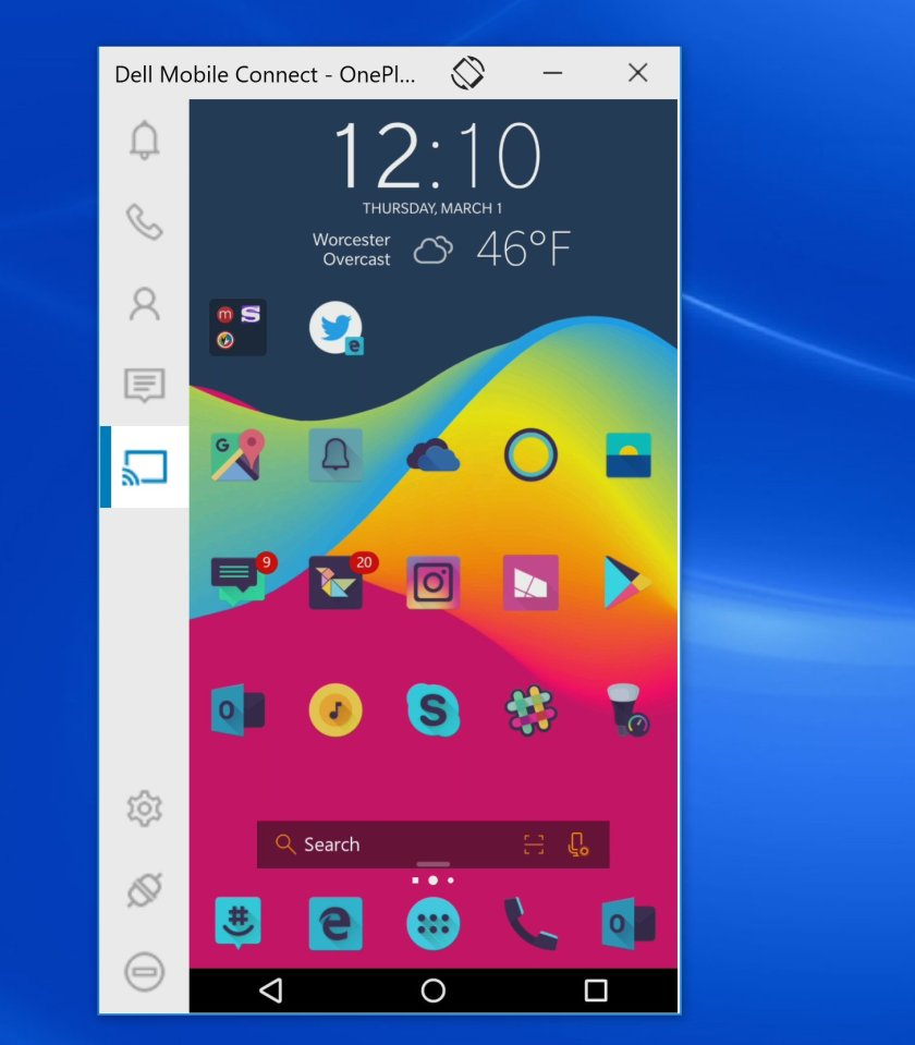 dell-mobile-connect-pc Best Android apps for connecting your phone and your Windows 10 PC Android