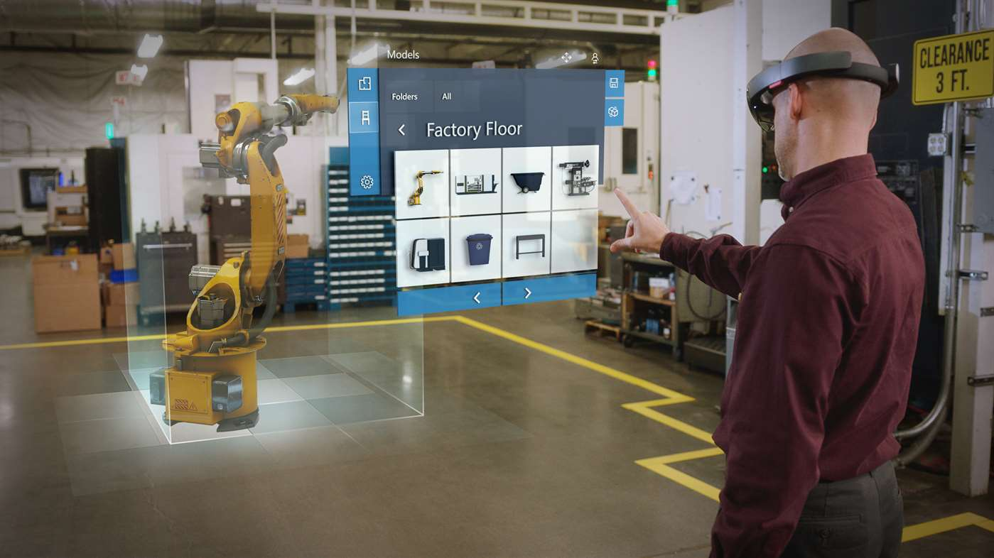 Dynamics 365 Remote Assist and Layout mixed reality
