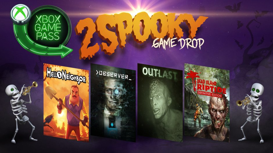 Xbox Game Pass Picks Up 4 Spooky Games For Halloween