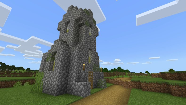 A nice cobblestone tower