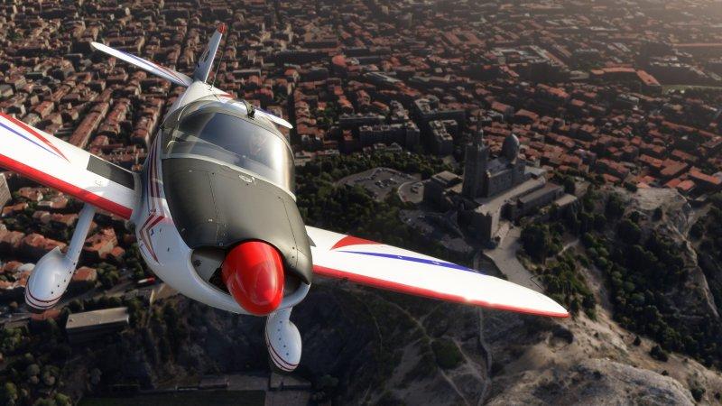 Microsoft Flight Simulator CAP 10