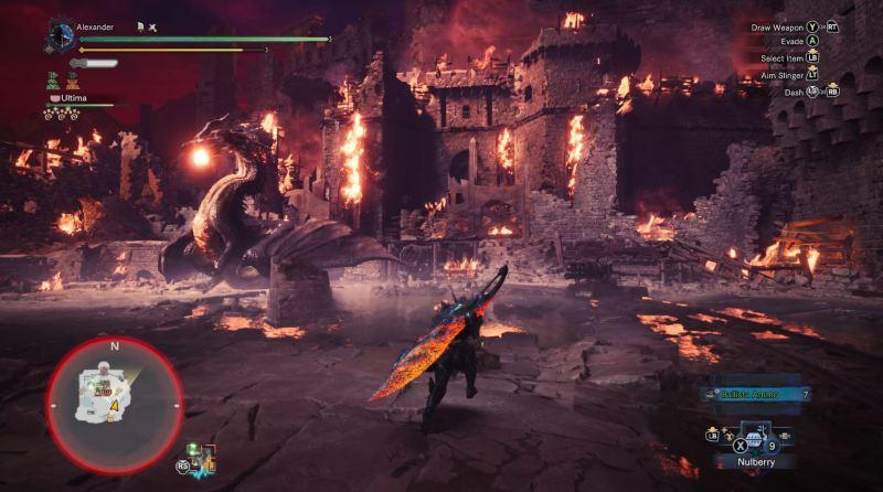 Monster Hunter World Fatalis Castle Shot