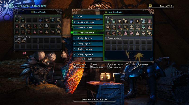 Monster Hunter World Fatalis Items