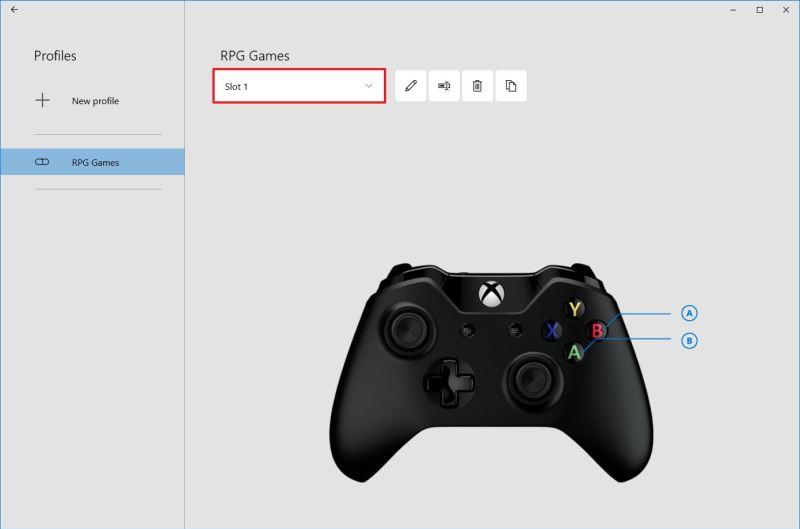 Make remap Xbox profile the default on Windows 10