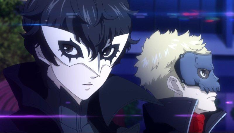 Persona 5 Strikers Joker And Skull