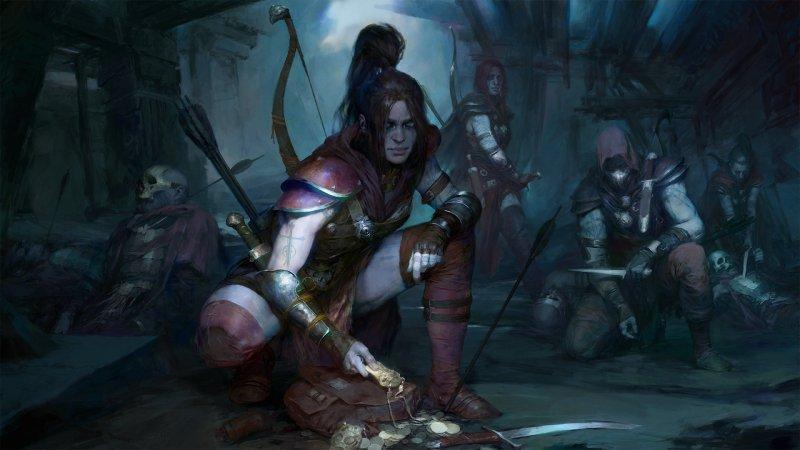Diablo 4 Rogue Art