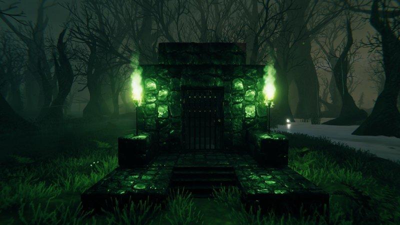 Valheim Swamp Crypt