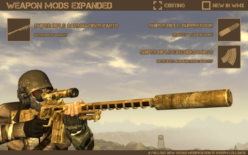 Weapon Mods Expanded