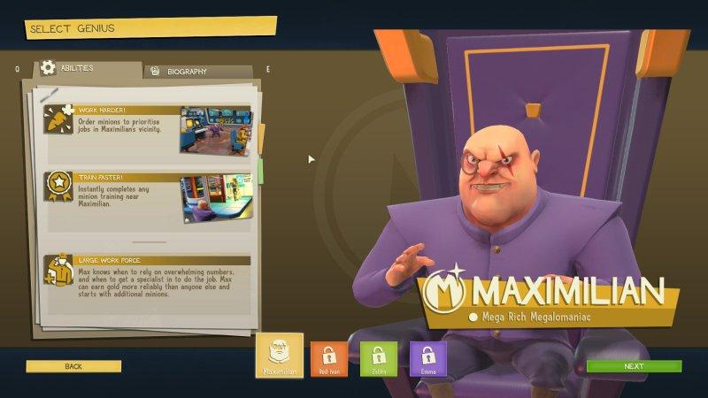 Evil Genius 2 Max