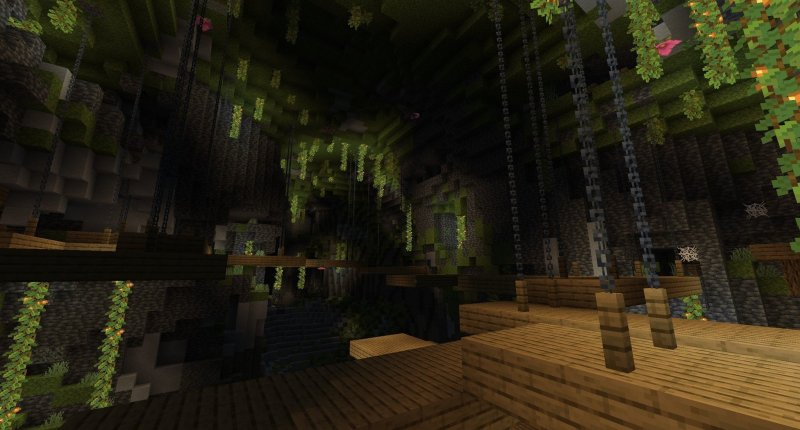 Minecraft Caves And Cliffs Update Lush Caves