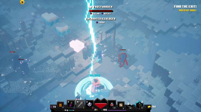 Minecraft Dungeons Frostwarden