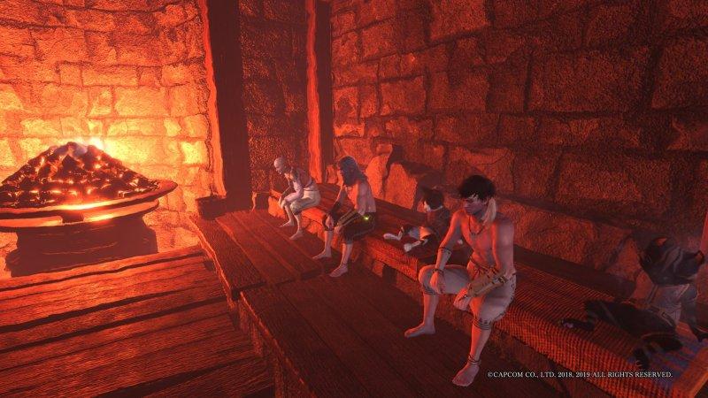 Monster Hunter World Sauna
