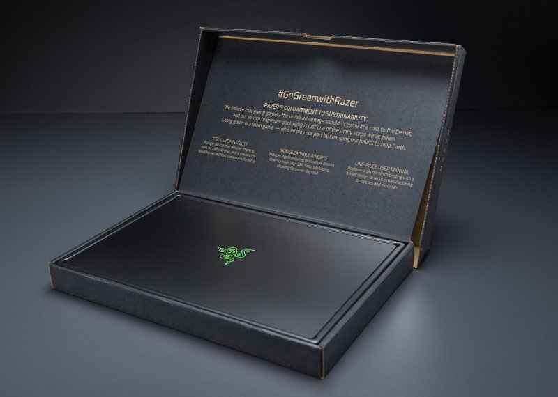 Razer Sustainable Packaging