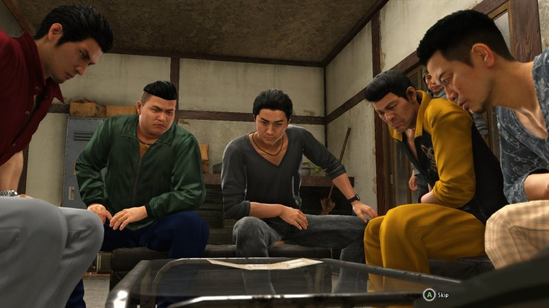 Yakuza 6 The Gang