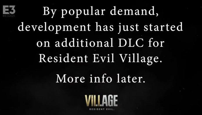 Resident Evil Village Dlc Announcement