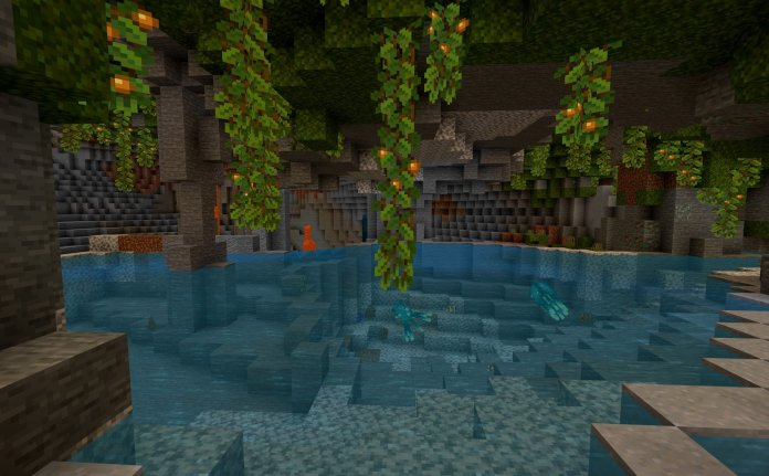 Minecraft Caves And Cliffs Update 1.18.0.21 Beta Image