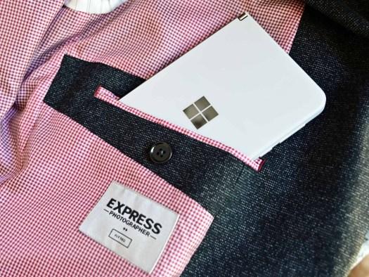 Surface Duo Jacket Pocket