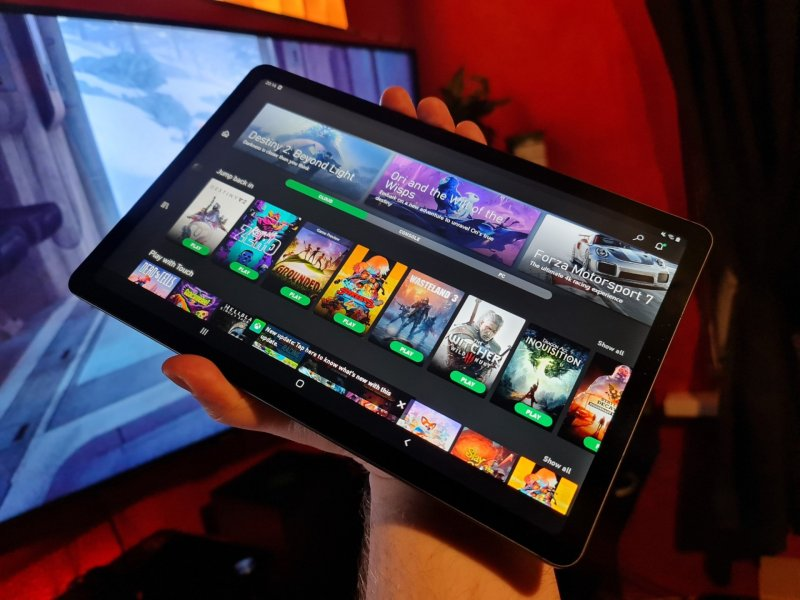 Xbox Game Pass Cloud Tablet