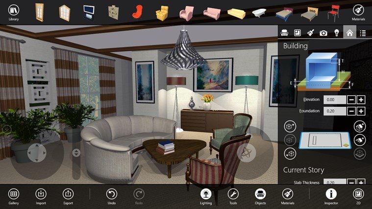 Live Interior 3d Pro The Brilliant Interior Designing App