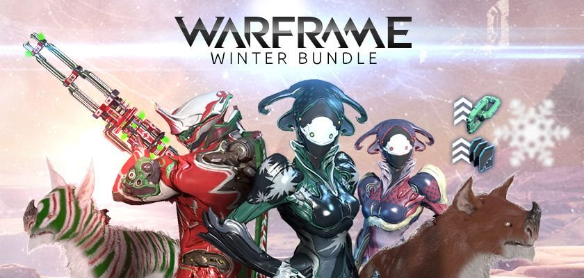 Warframe For Xbox One Celebrates The Holidays And We Run