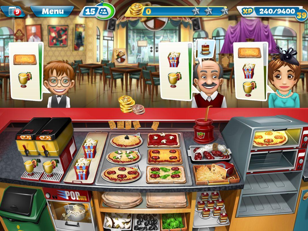 Play Online Time Management Restaurant Games