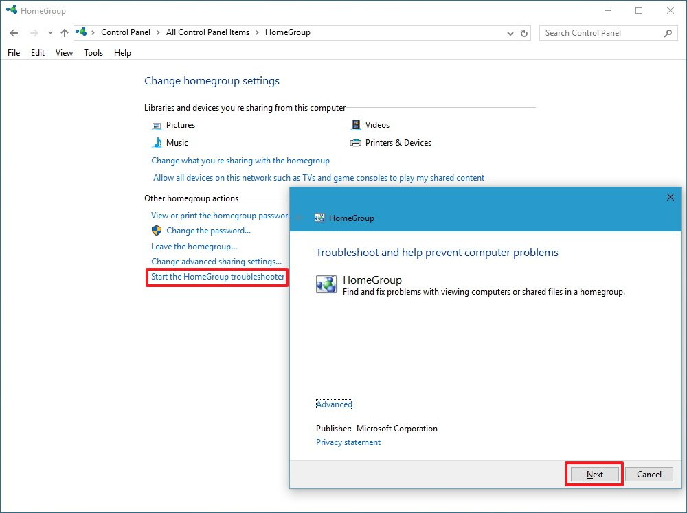 How to set up and manage Windows 10 HomeGroup on a local ...
