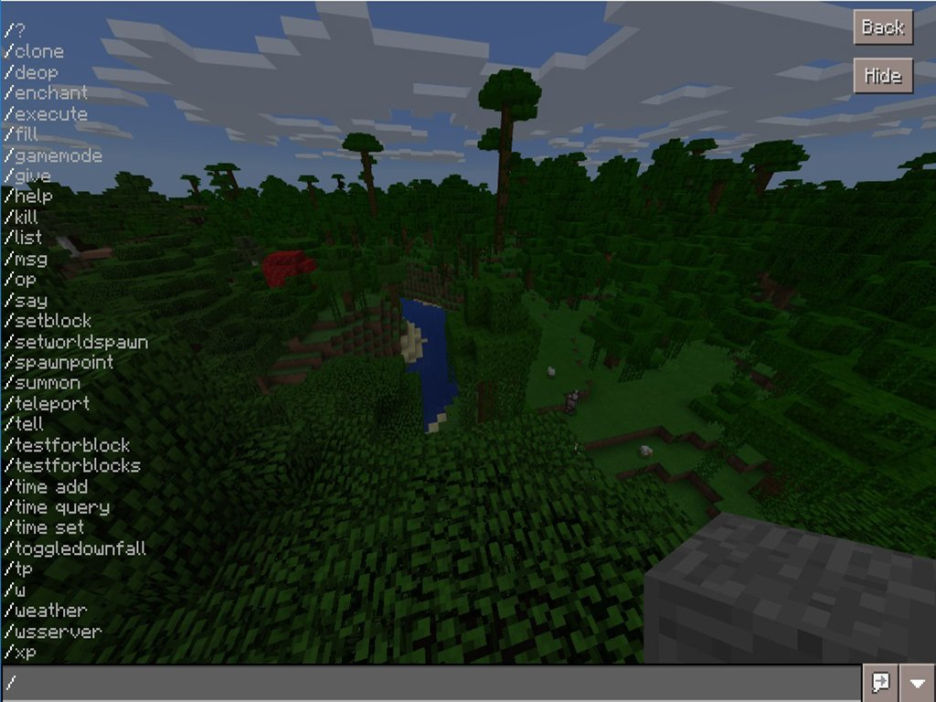 Guide To Slash Commands And Cheats In Minecraft Windows