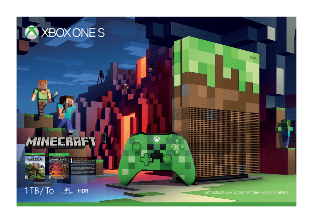 Image result for Minecraft Xbox One Bundle Gamescom