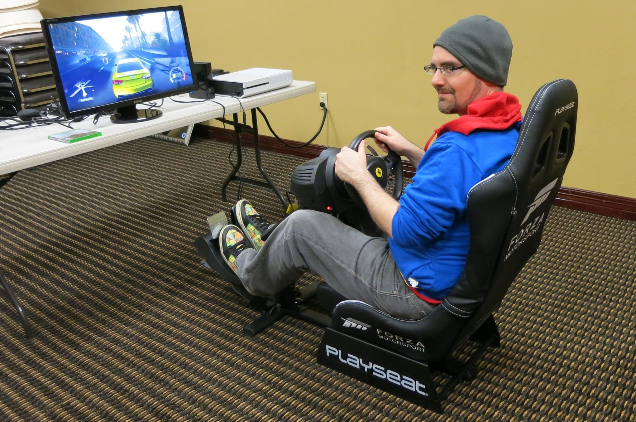 forza horizon 2 gaming chair director covers ebay playseat review  the ultimate for