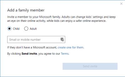 Windows Family Control