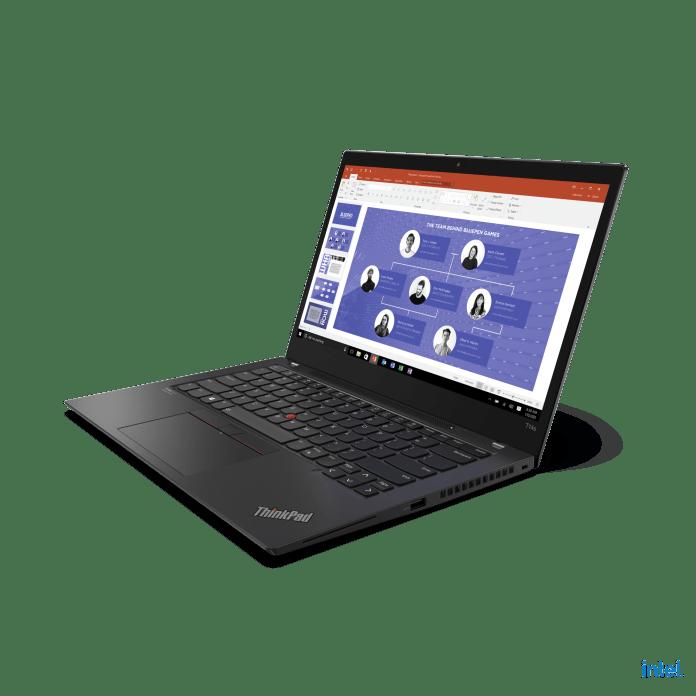 ThinkPad T14s Gen 2 Hero Front Facing Left