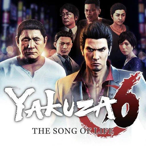 Yakuza 6 Song Of Life Cover Large