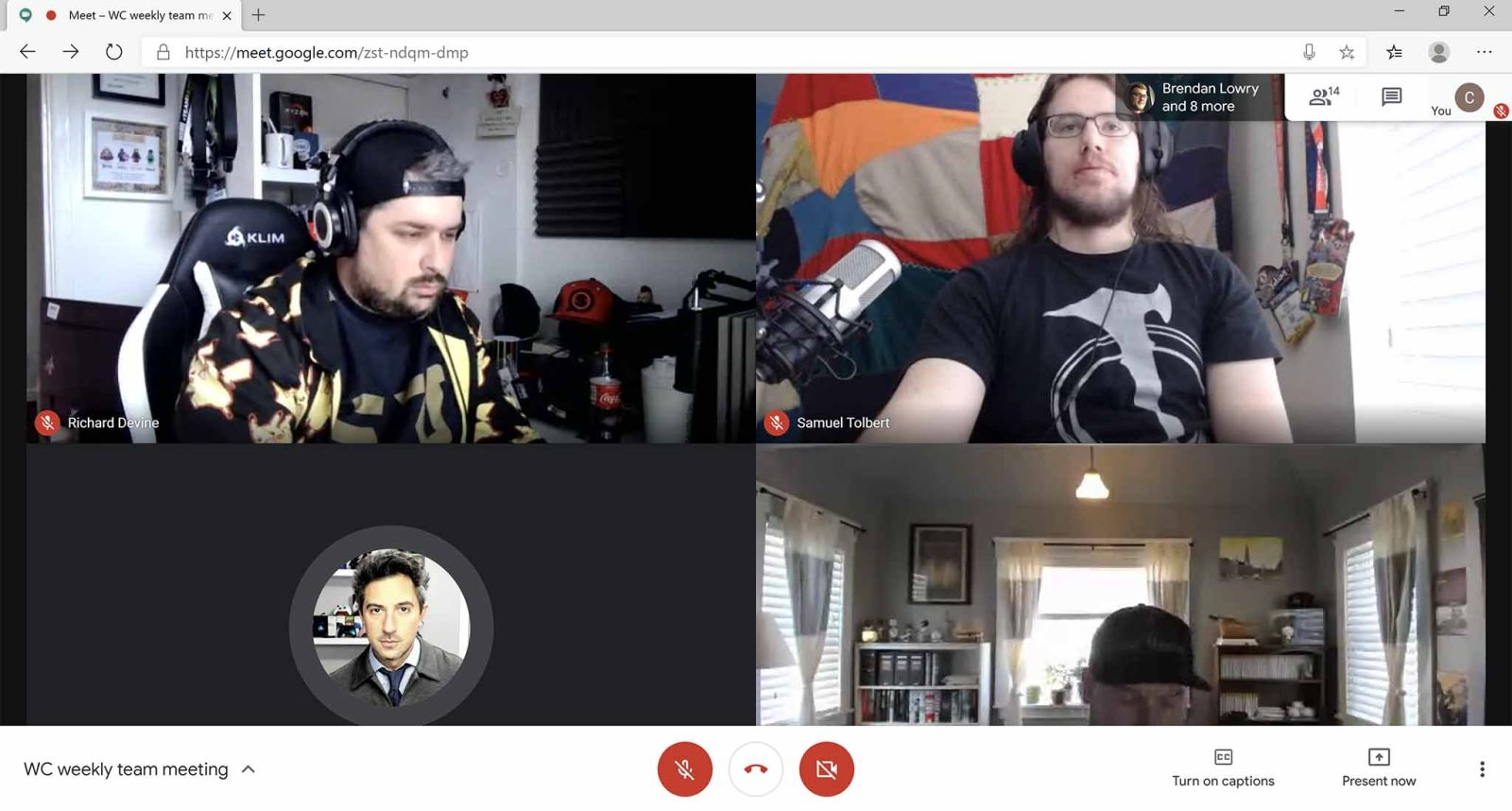 Google Hangouts Meet Getting Started Joining Calls