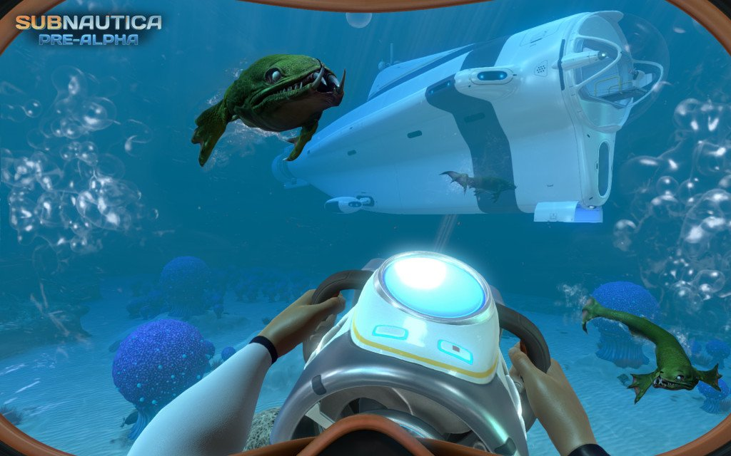 subnautica to launch out