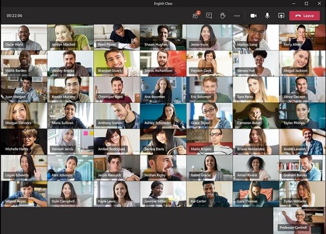 Microsoft øker synlige team som møter deltakerne til 49
