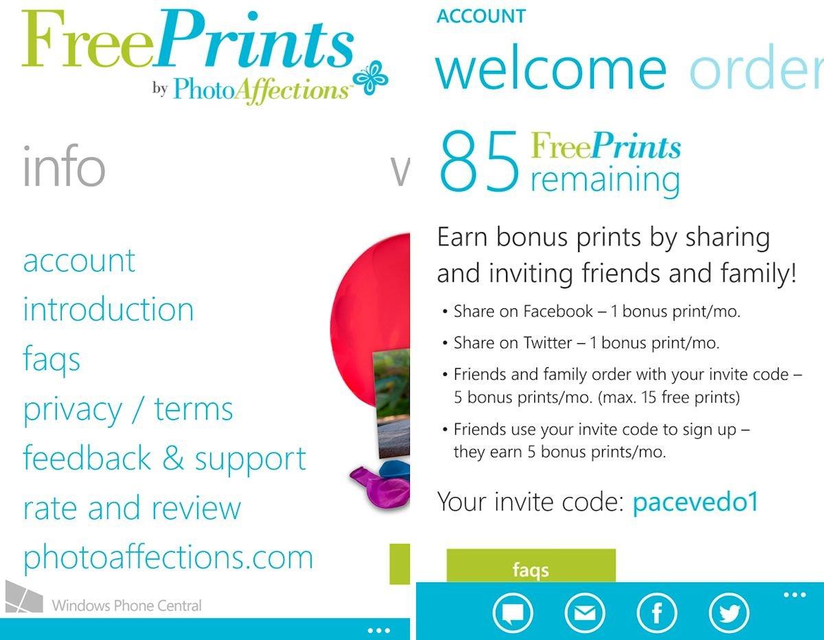 freeprints photo printing service