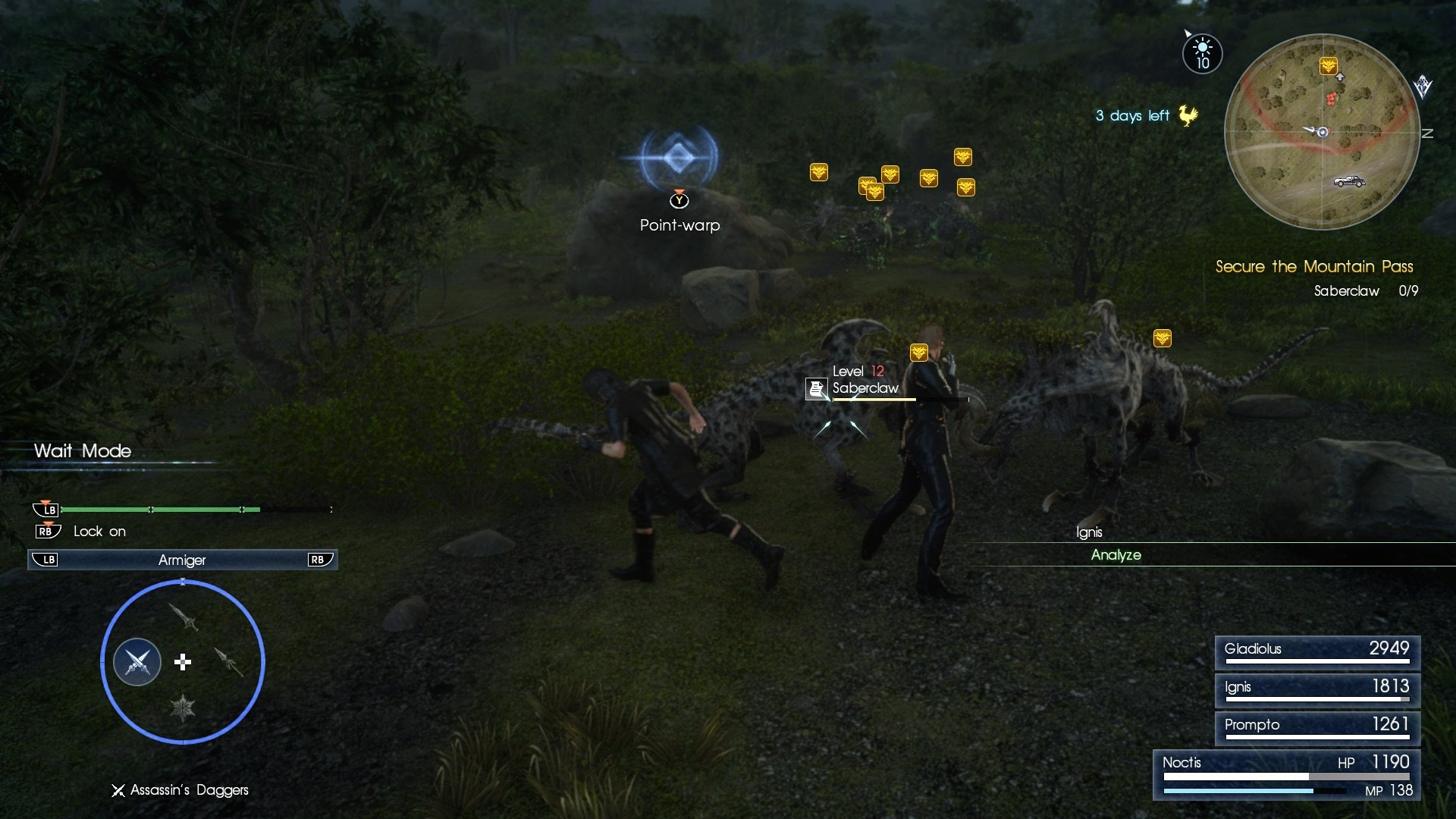 final fantasy xv armiger