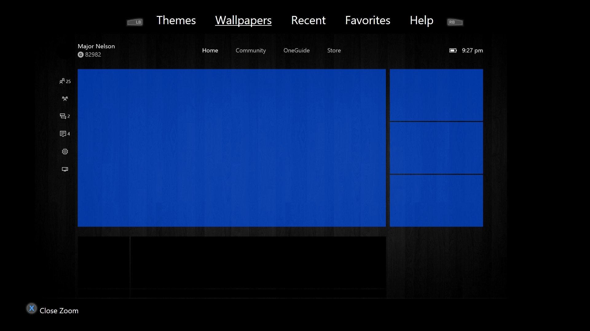 get custom backgrounds for