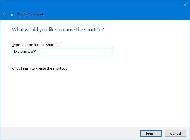Cara mengaktifkan Universal File Explorer di Windows 10