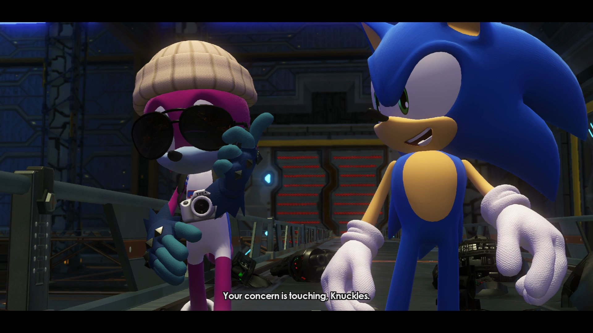 Forces Create a Sonic Character