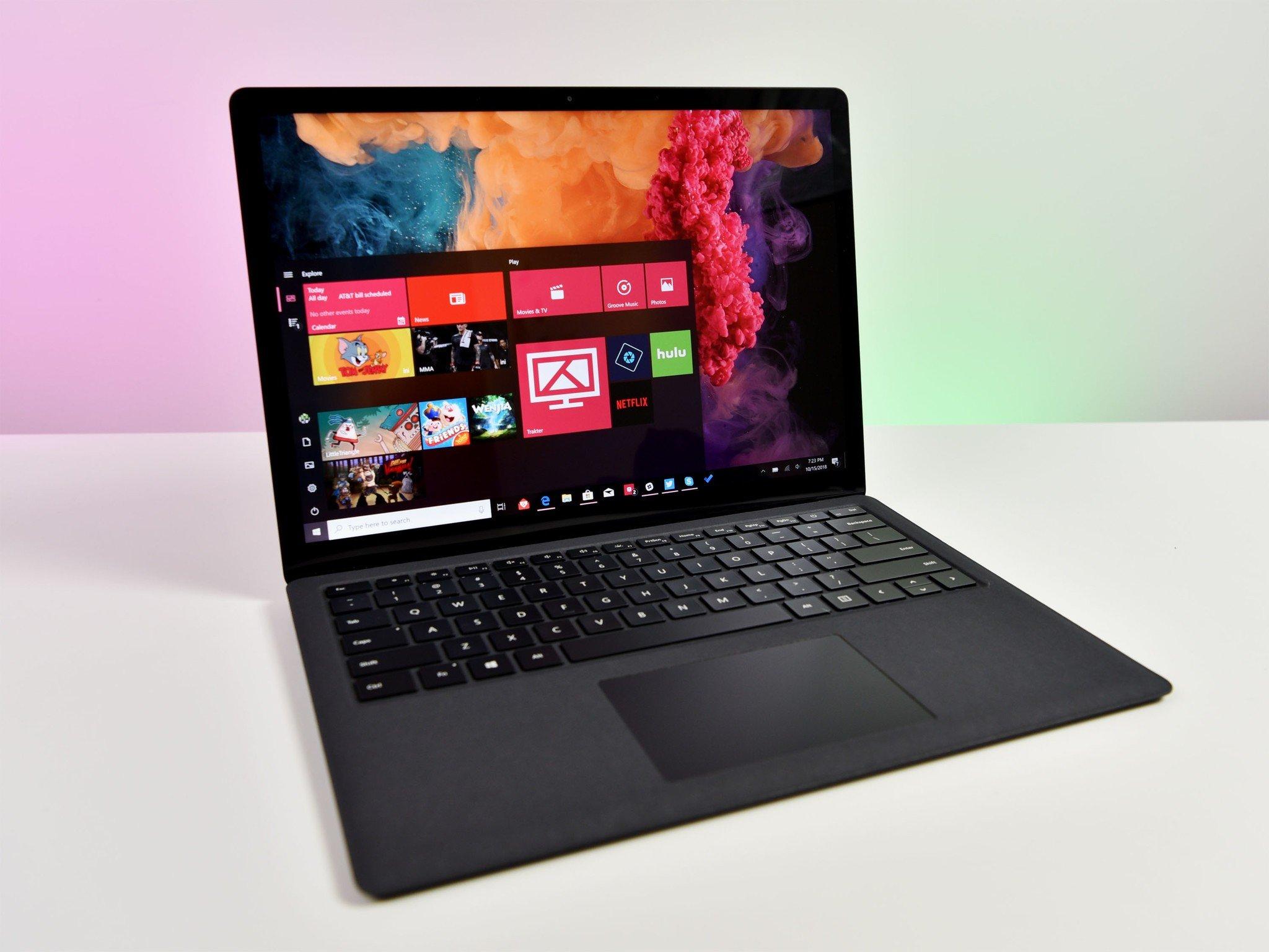 microsoft surface laptop 2 [ 1600 x 1200 Pixel ]