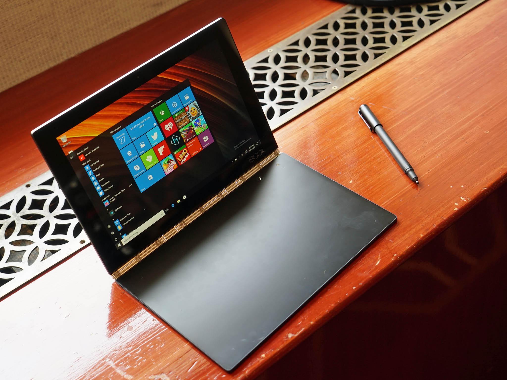 Lenovo Yoga Book Windows 10 - George's Blog