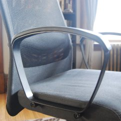 Swivel Chair Not Staying Up Hans Wegner Shell Ikea Markus Office Review High Back Comfort Without A If You Re On Hardwood Floors Keep An Eye Out For Scratching I Picked Plastic Floor Mat When Noticed Some Scuffs Beneath The