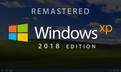 windows XP koncept 2018